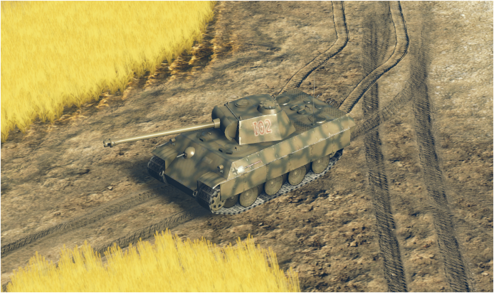 Panther ausf A bis